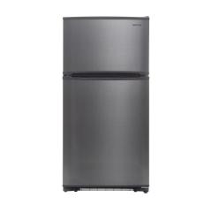 Ft Black Top Mount Refrigerator Ice Maker Ready WINIA WTE18HSBCD 18 Cu