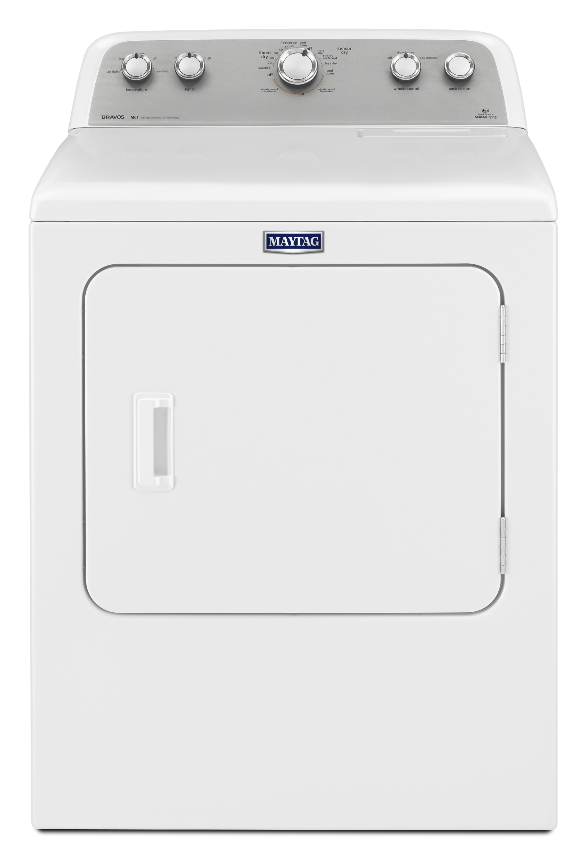 Maytag 7 0 Cuft Electric Dryer With Sanitize Cycle