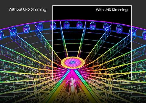 Atenuación UHD definitiva: ajusta el contraste para obtener sombras profundas y brillos brillantes