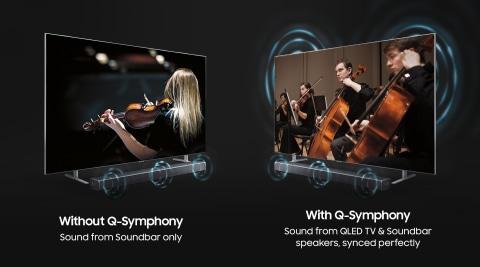 Q Soundbar and TV, the perfect harmony - Q-Symphony