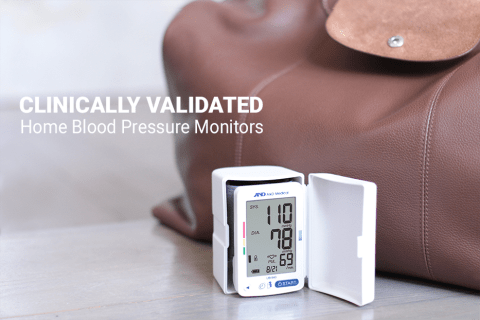 Clinically Validated UB-543 Wrist Blood Pressure Monitor from A&D Medical