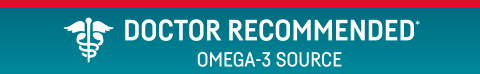 A doctor recommended omega-3 source*