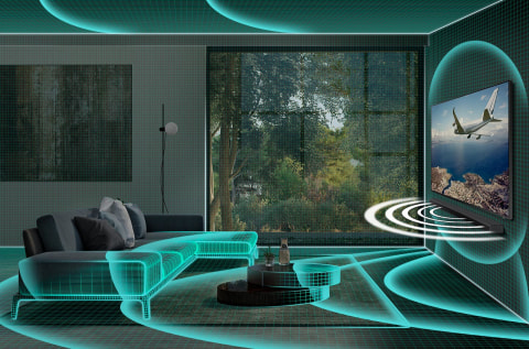 Optimized sound to suit your space - SpaceFit Sound