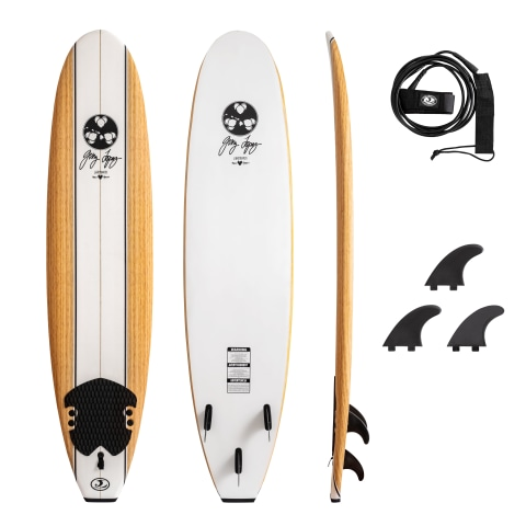 Gerry Lopez 8' Foam Surfboard | Costco