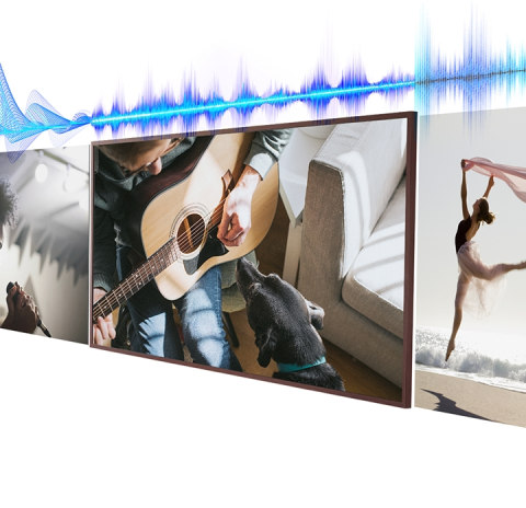 Sound that mirrors the action - Adaptive Sound+