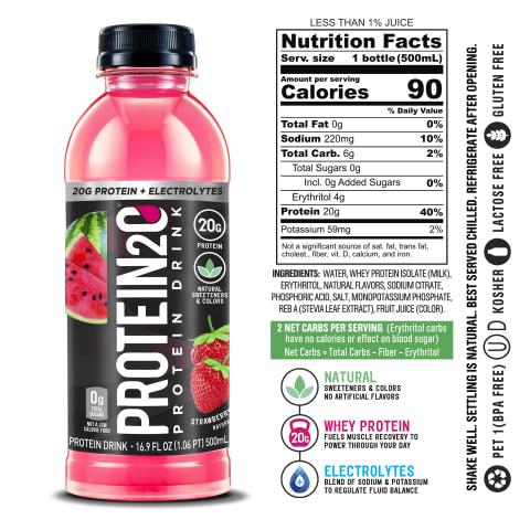 Protein2o Strawberry Watermelon (6 Bottles)