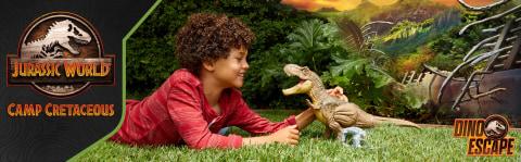 ¡El dinosaurio SE HA ESCAPADO!