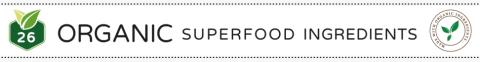 Organic Superfood Ingredients