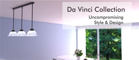 Vaxcel PD5027OBB Da Vinci 3 Light 40 inch Oil Burnished Bronze Mini Pendant Ceiling Light