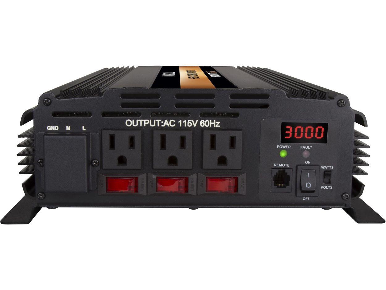 High Power Inverter front