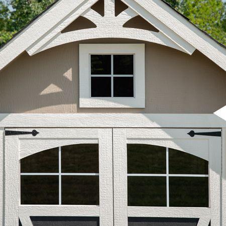 integrated door windows