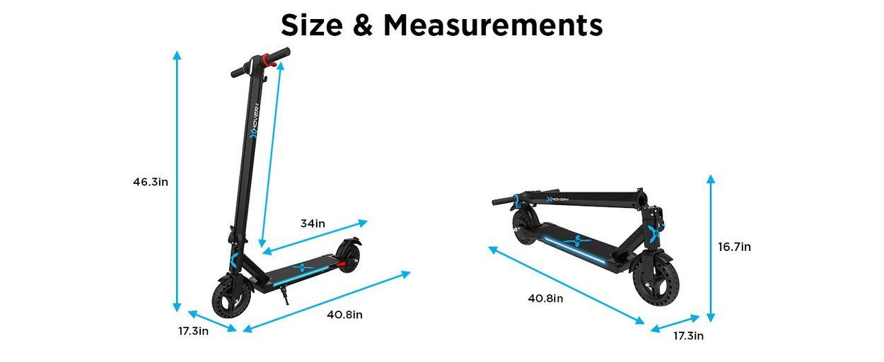 size & measurements