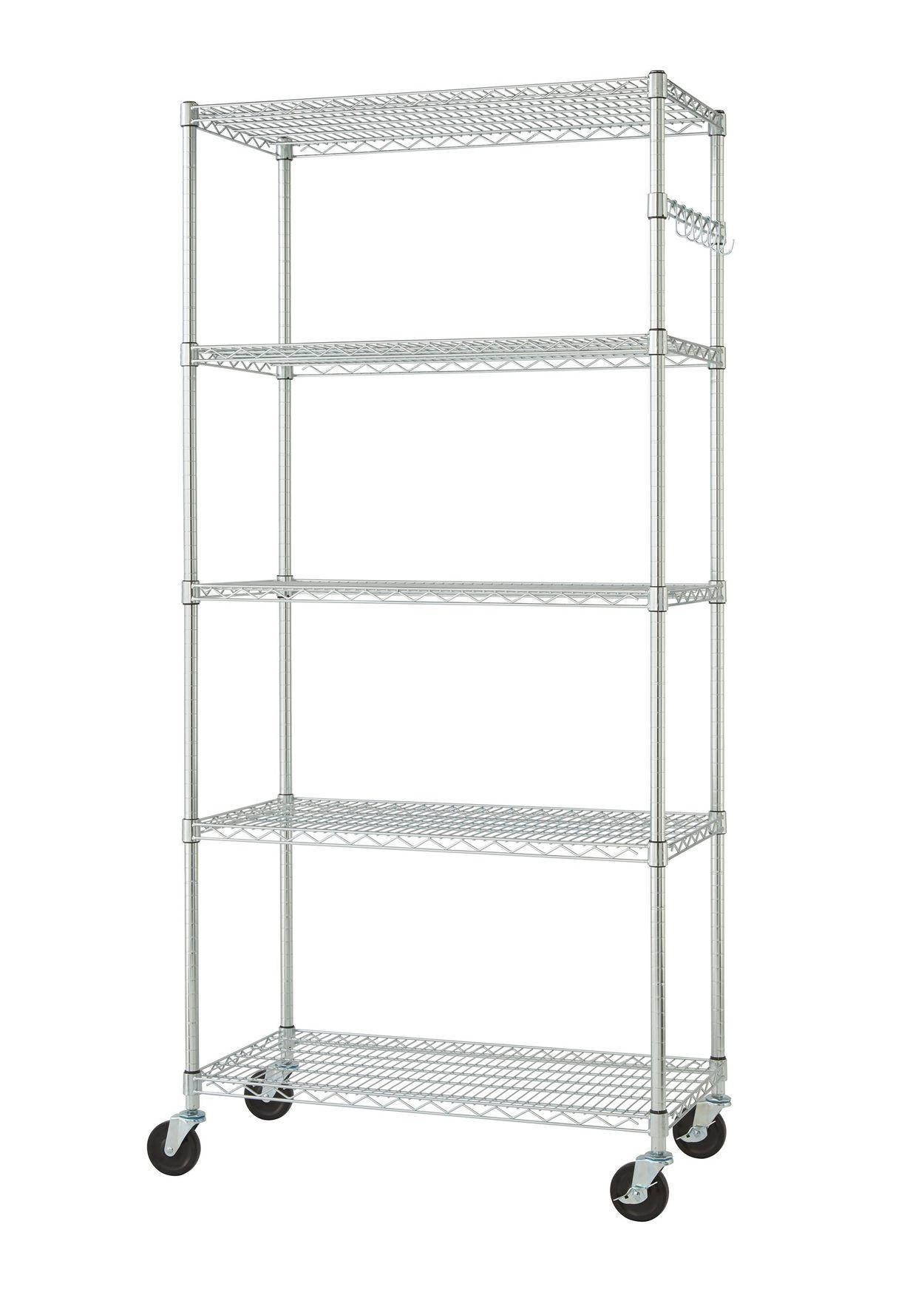 TRINITY TBFZ-0906 Wire shelving rack