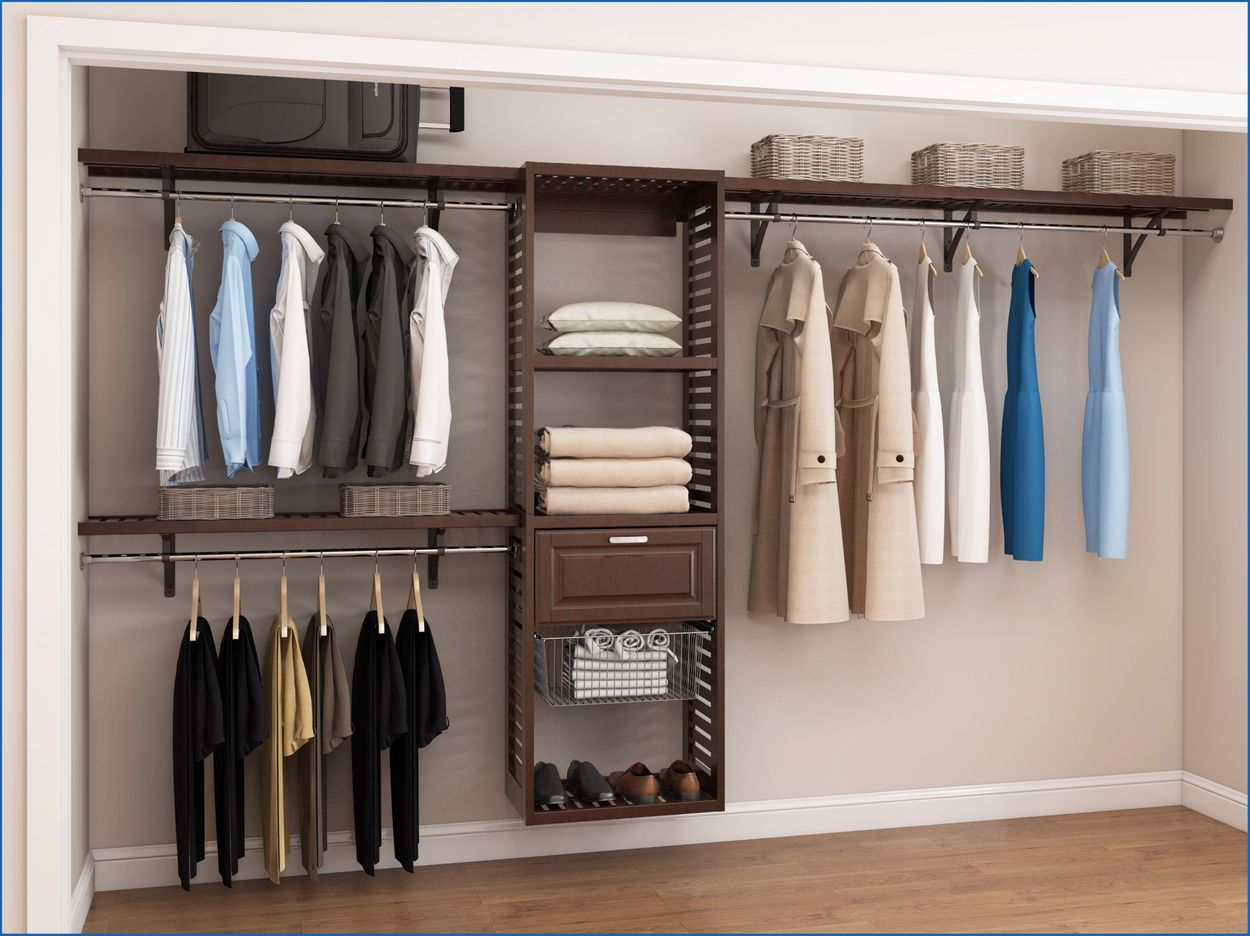 Allen Roth 23 75 In W X 16 In D X 76 In H Java Wood Closet Tower In The Wood Closet Towers Bases Department At Lowes Com