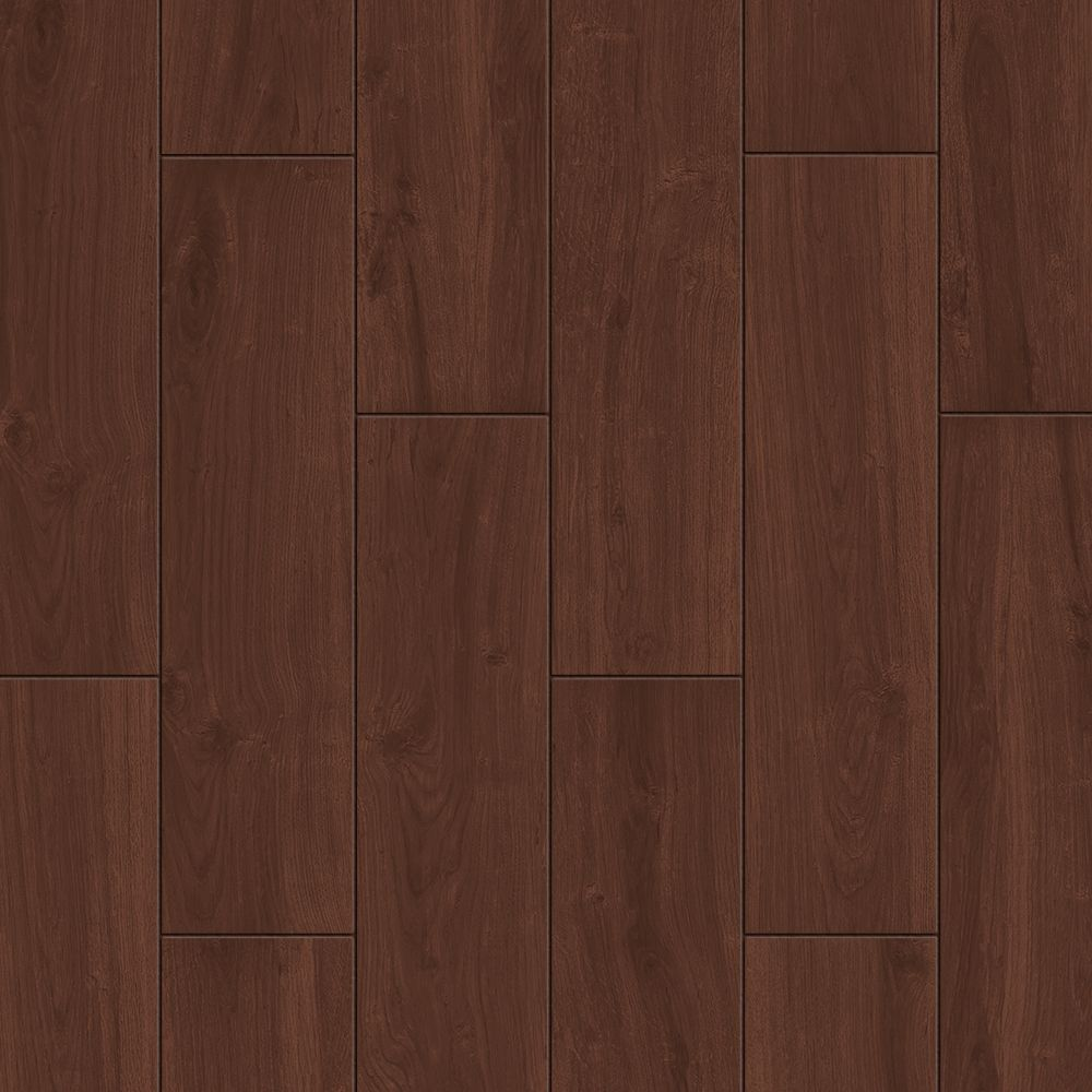 Style Selections Serso Black Walnut 6 In X 24 In Glazed Porcelain Wood Look Tile In The Tile Department At Lowes Com
