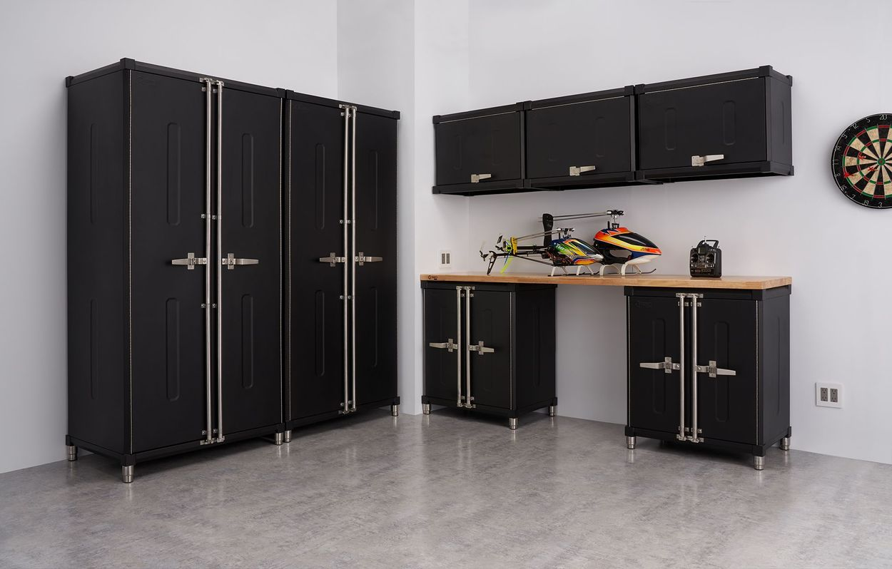Trinity Pro 8 Piece Welded Garage Cabinet Set