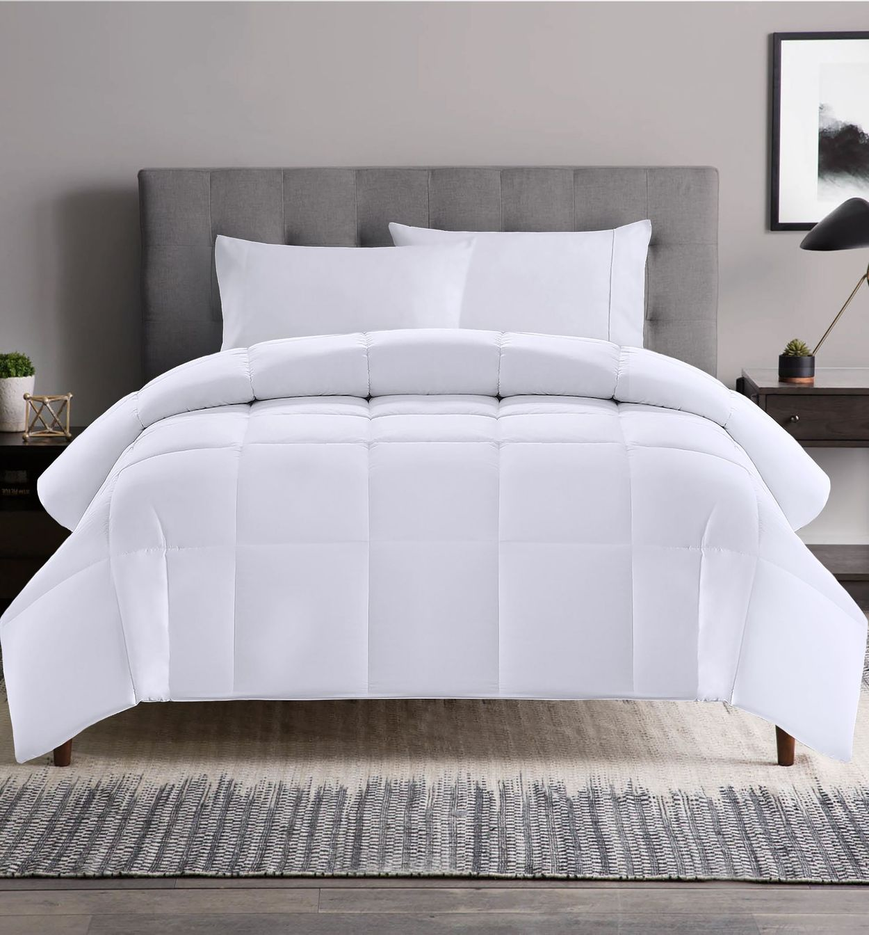 Hotel Grand White Goose Feather Down Comforter