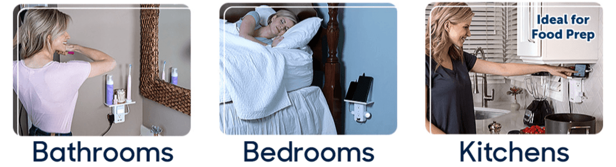 Bathrooms Bedrooms Kitches Ideal for Food Prep
