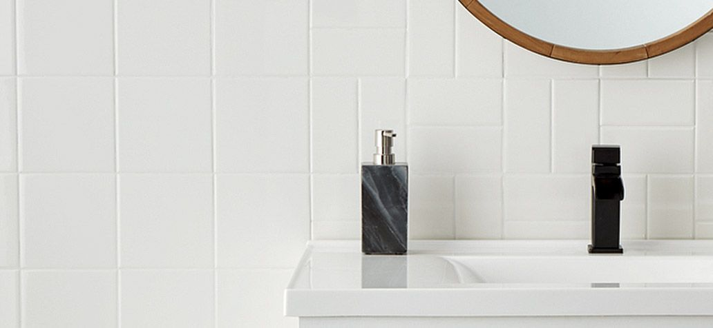 American Olean Starting Line White Gloss 6 In X 6 In Glazed Ceramic Wall Tile In The Tile Department At Lowes Com