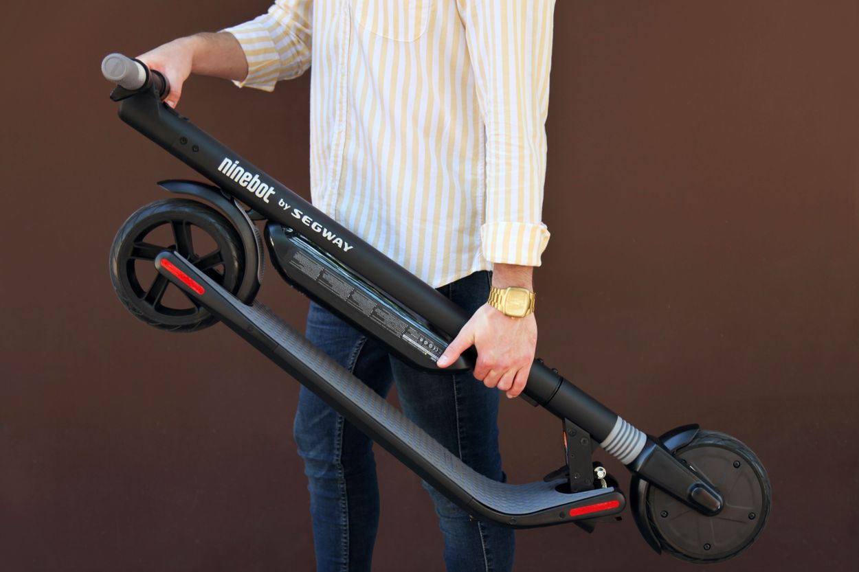 Brand New Underpriced Segway Ninebot Es3 Kickscooter With Dual Battery Ebay