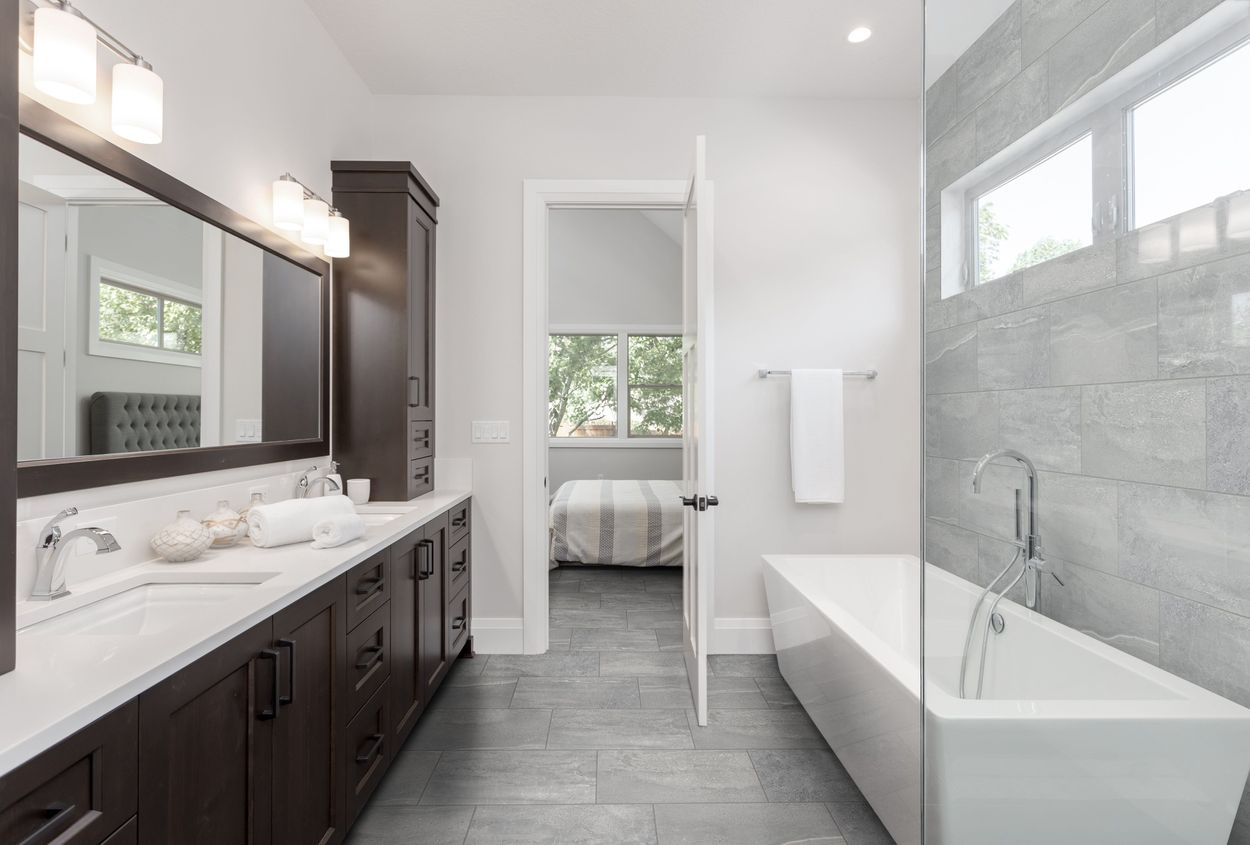 Style Selections Skyros Gray 12 In X 24 In Glazed Porcelain Stone Look Floor And Wall Tile In The Tile Department At Lowes Com
