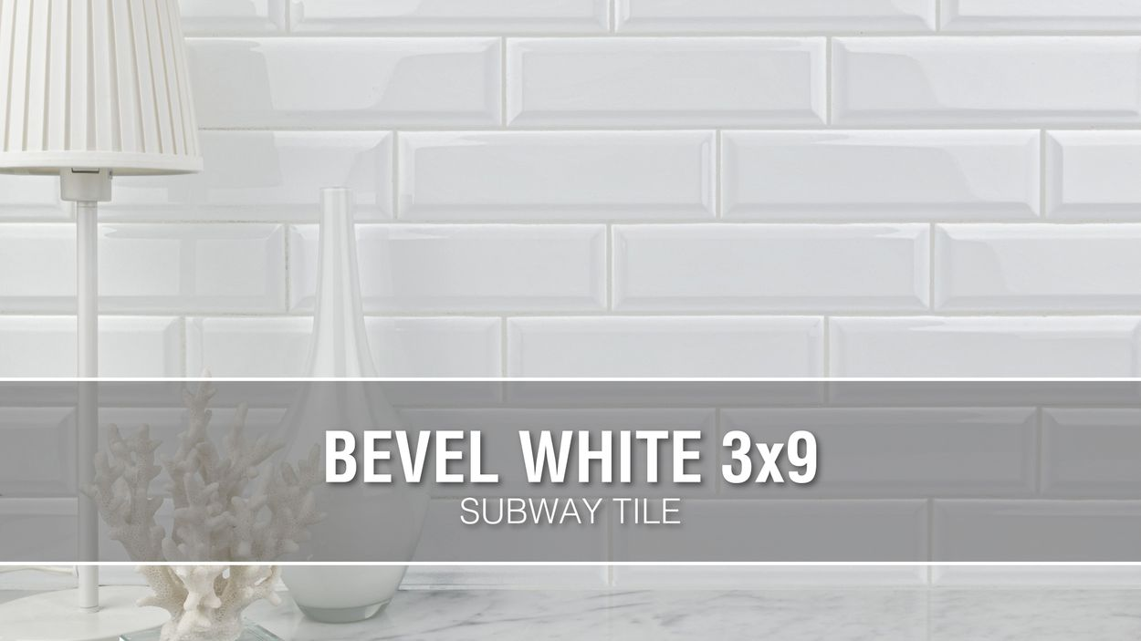 Boutique Ceramic Boutique White 3 In X 9 In Glazed Ceramic Subway Wall Tile In The Tile Department At Lowes Com