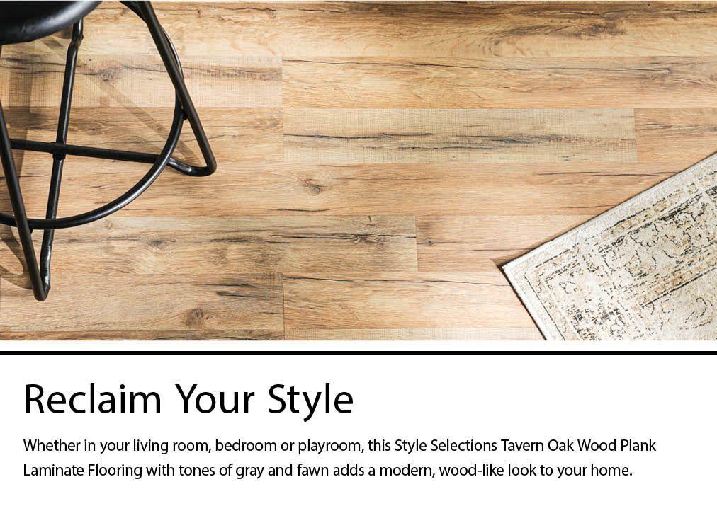 Style Selections Tavern Oak 8 Mm Thick, Tavern Oak Laminate Flooring Reviews