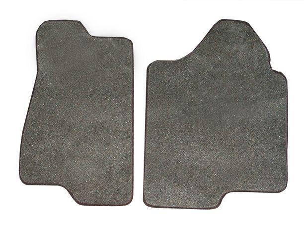 Nylon Carpet Coverking Custom Fit Front Floor Mats for Select Zimmer Golden Spirit Models Black