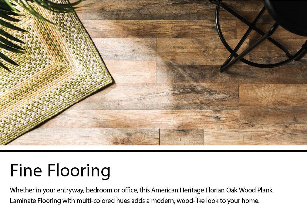 Florian Oak 7 Mm Thick Wood Plank 8 In, American Heritage Laminate Flooring