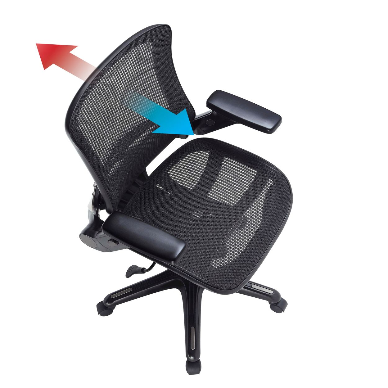 Bayside Furnishings Metrex Iv Mesh Office Chair