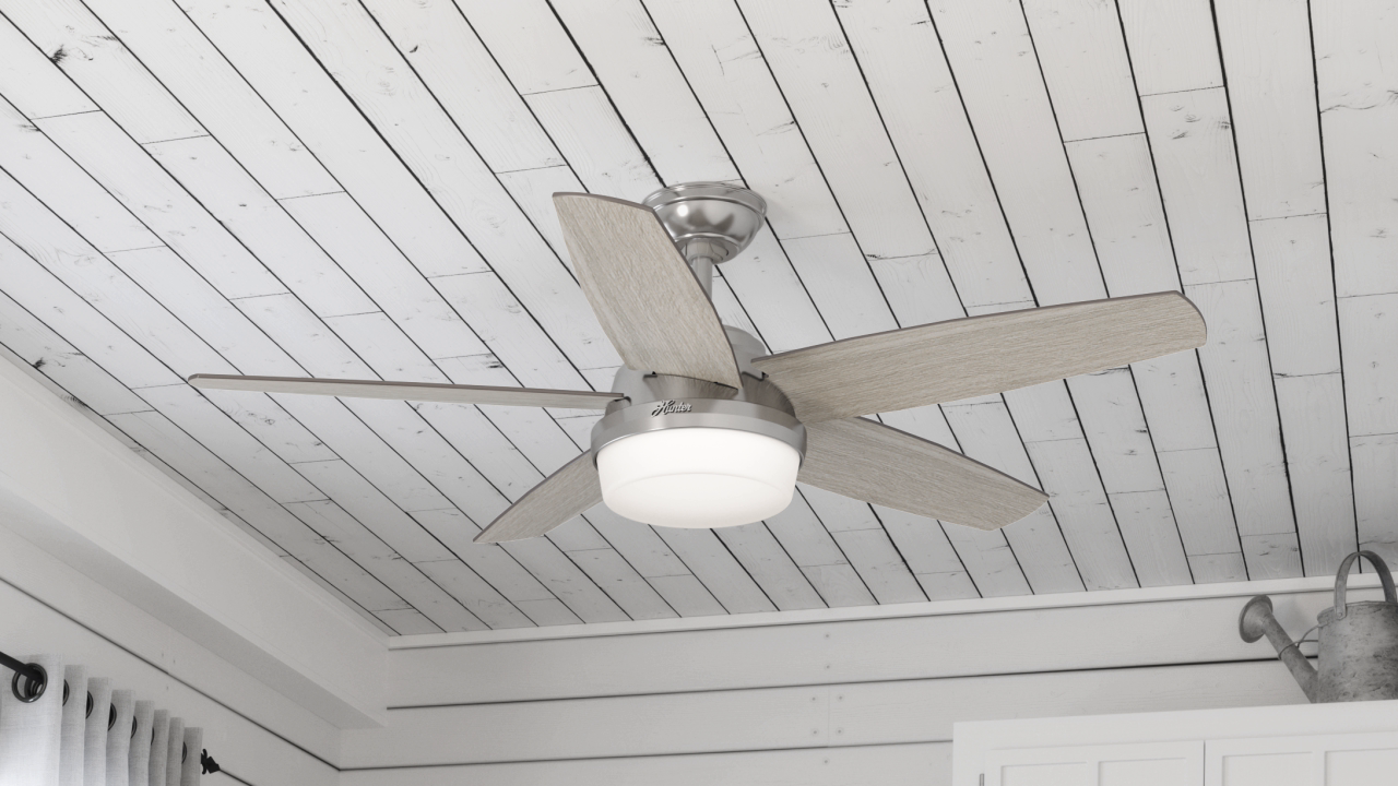 Hunter Avia Ii Led 52 Ceiling Fan