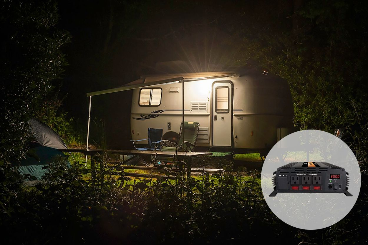 Use 3000w Power Inverter for RV Camping