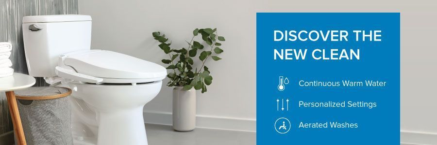 Discover the New Clean: Continuous Warm Water, Personalized  Settings, Aerated Washes