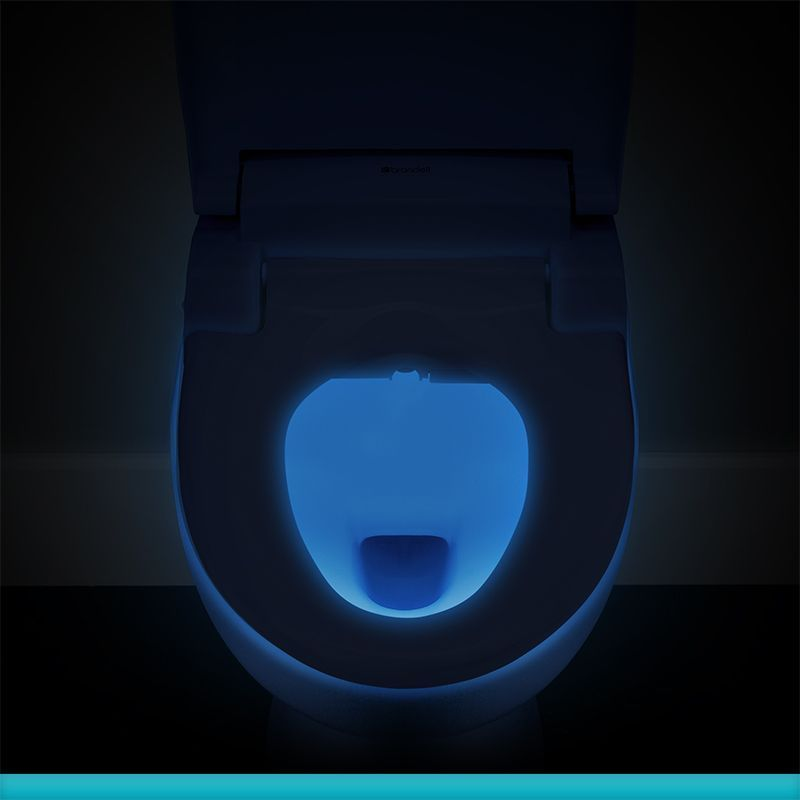 photograph of the bidet seat nightlight