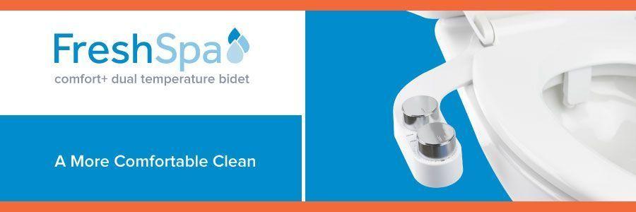 FreshSpa Comfort+ Dual Temperature Bidet: A More Comfortable Clean