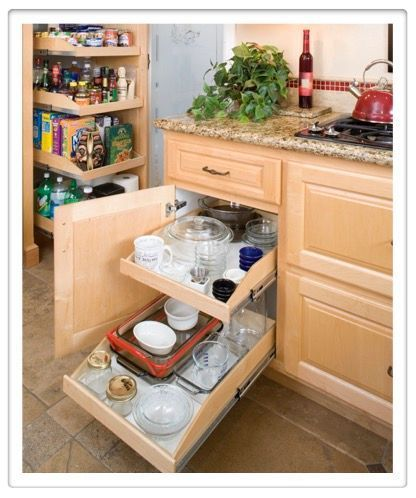 Made To Fit Slide Out Shelves For Existing Cabinets By Slide A Shelf Costco