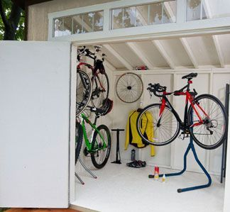 aston bike shed