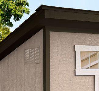 roof overhangs