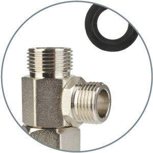 Metal T-valve and Bidet Parts
