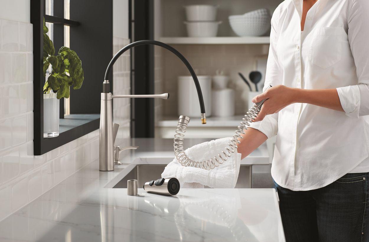 Kohler Semi Professional Kitchen Faucet With Soap Dispenser Costco
