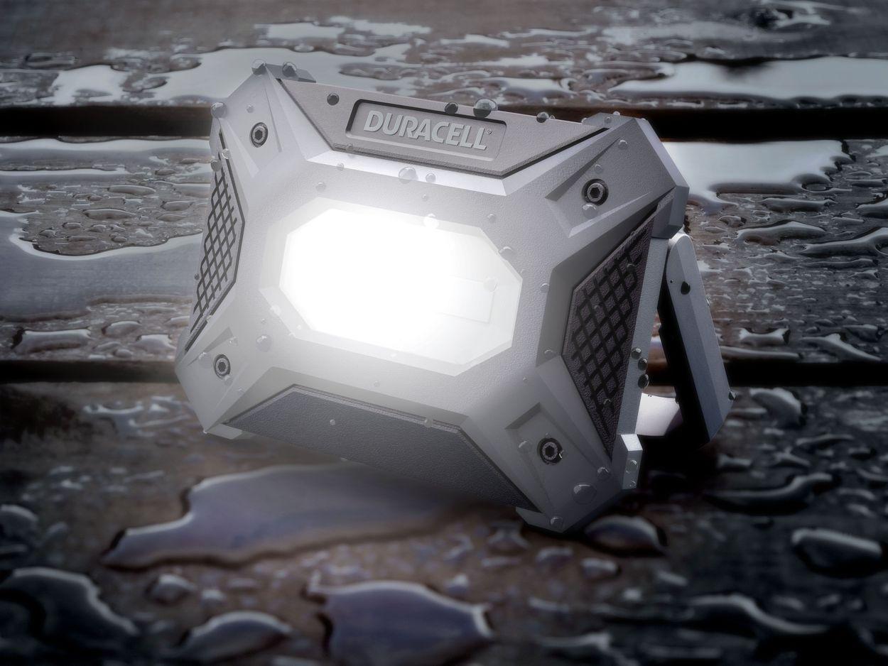 Image of worklight with 600 lumen beam